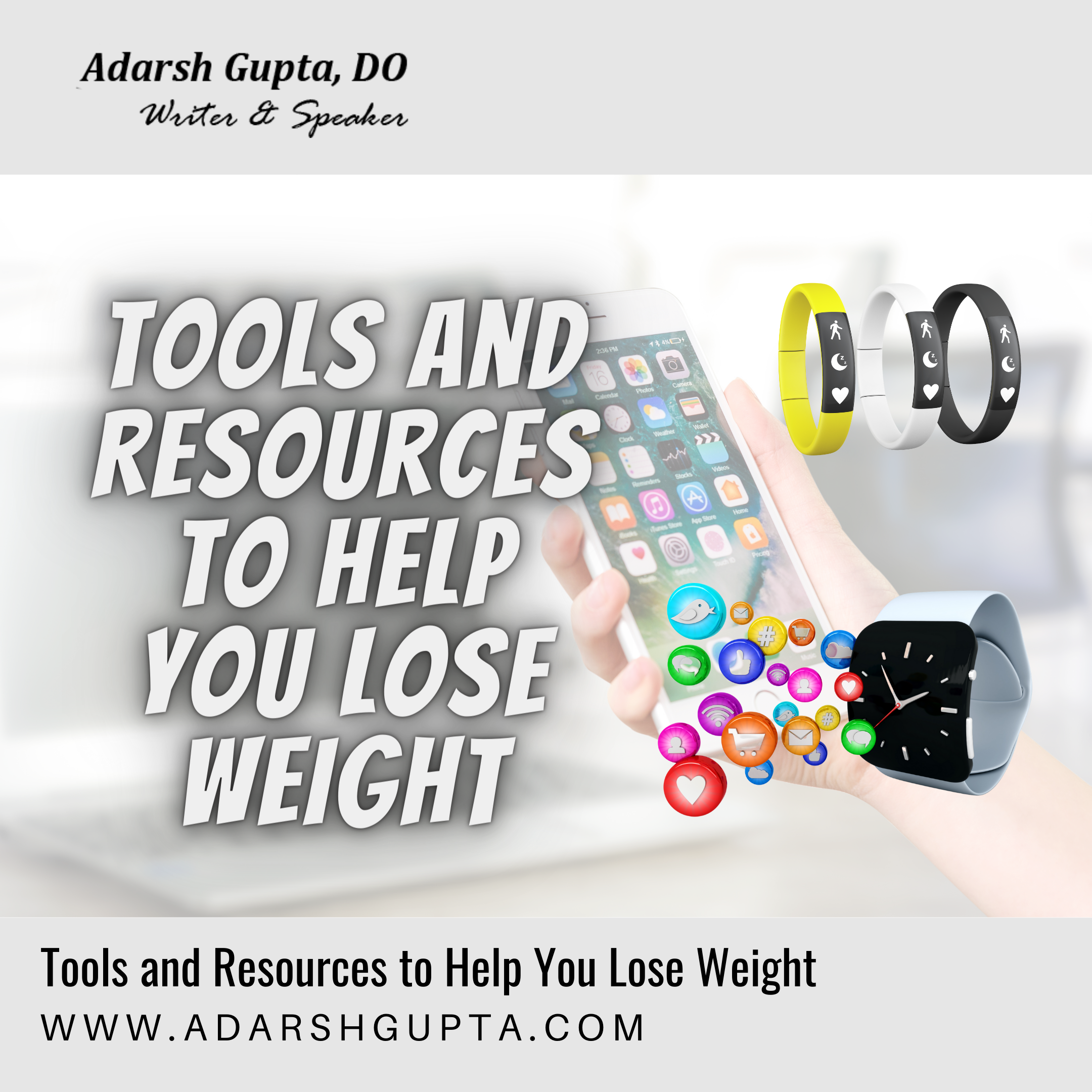 Tools and Resources to help you lose weight